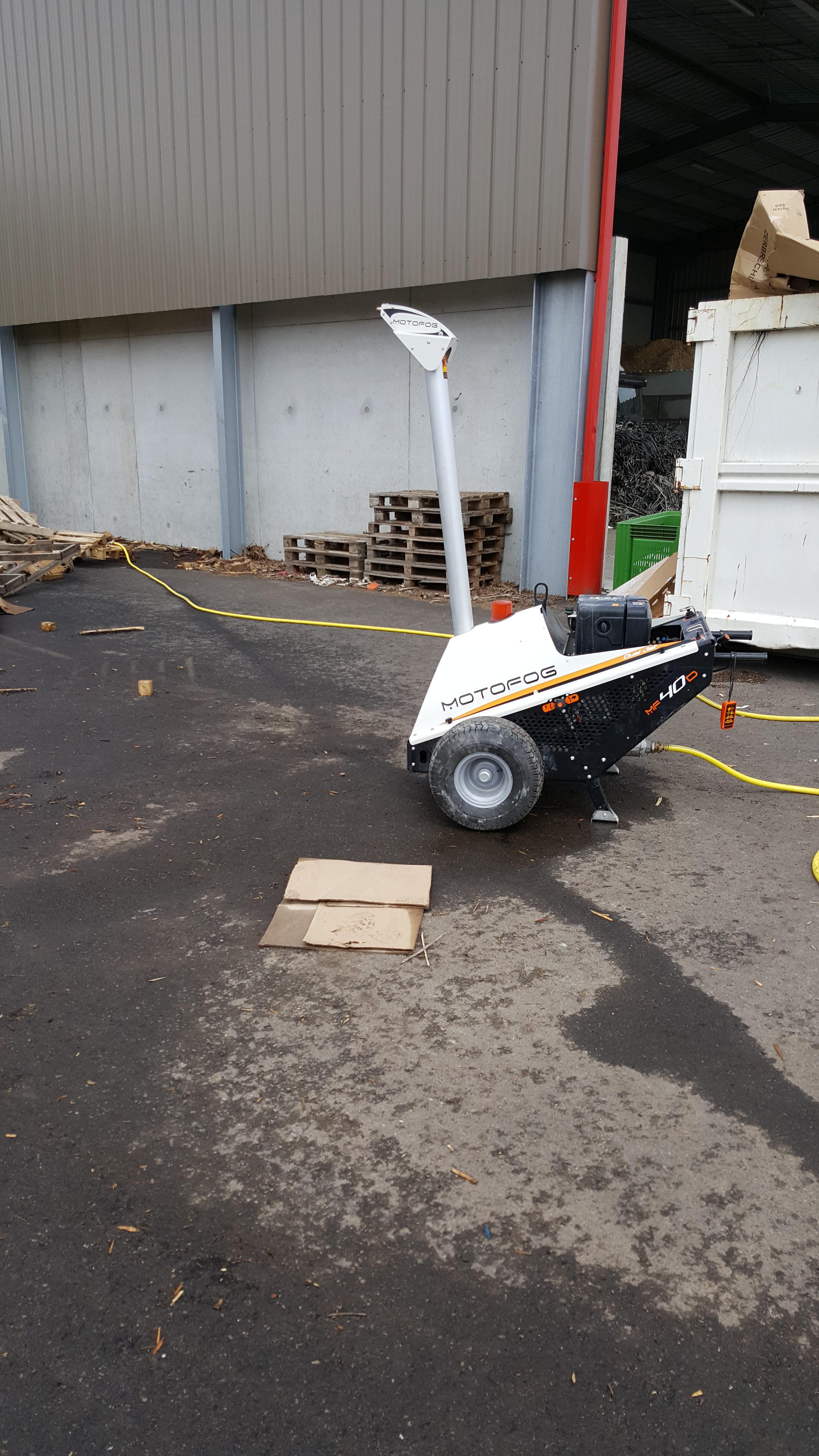 Le MOTOFOG MF40 est un brumisateur pour l'abattage de poussières et odeurs