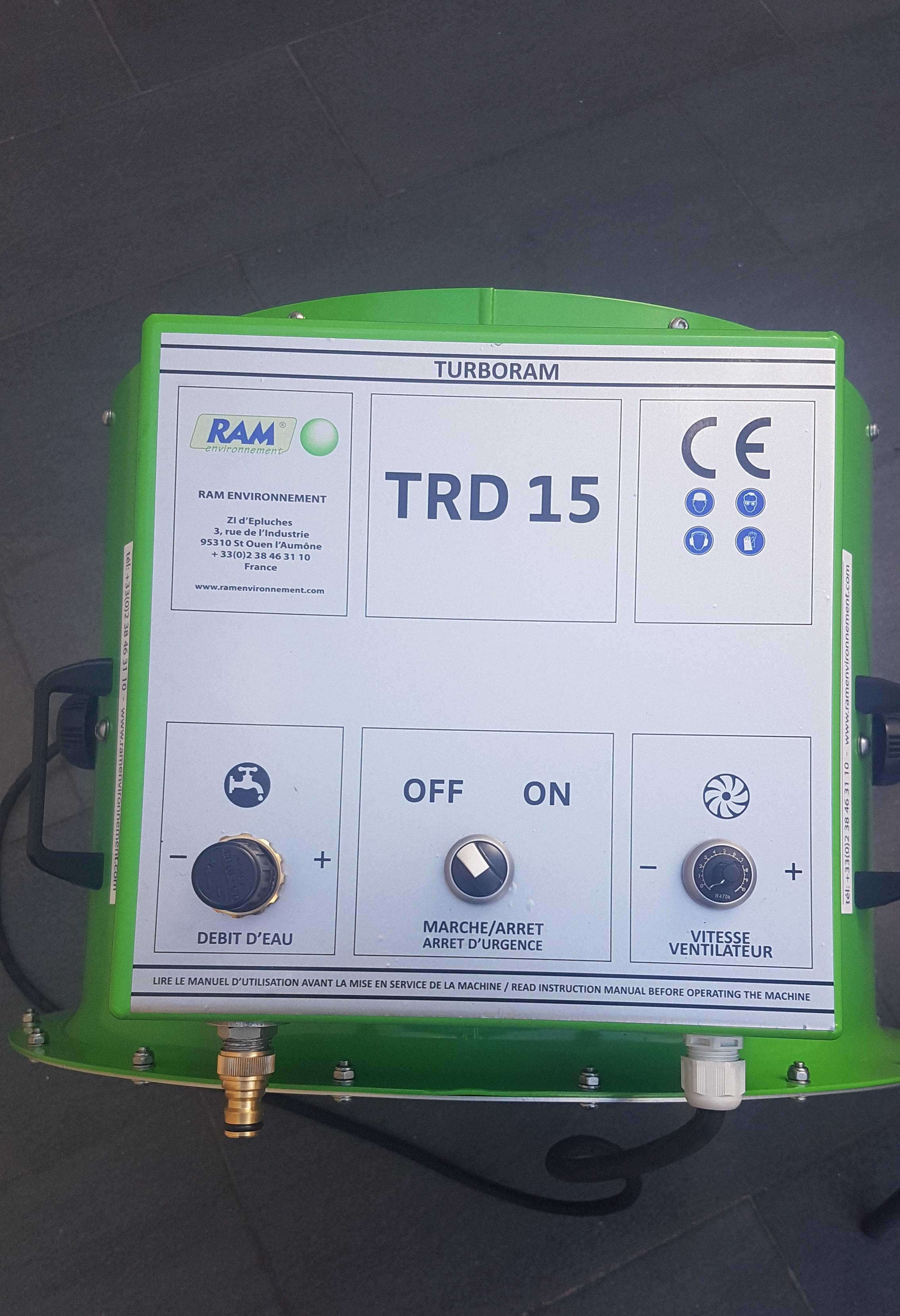 Canon de brumisation turboram trd15 A retrouver chez Prim BTP dans toute la France Fixe