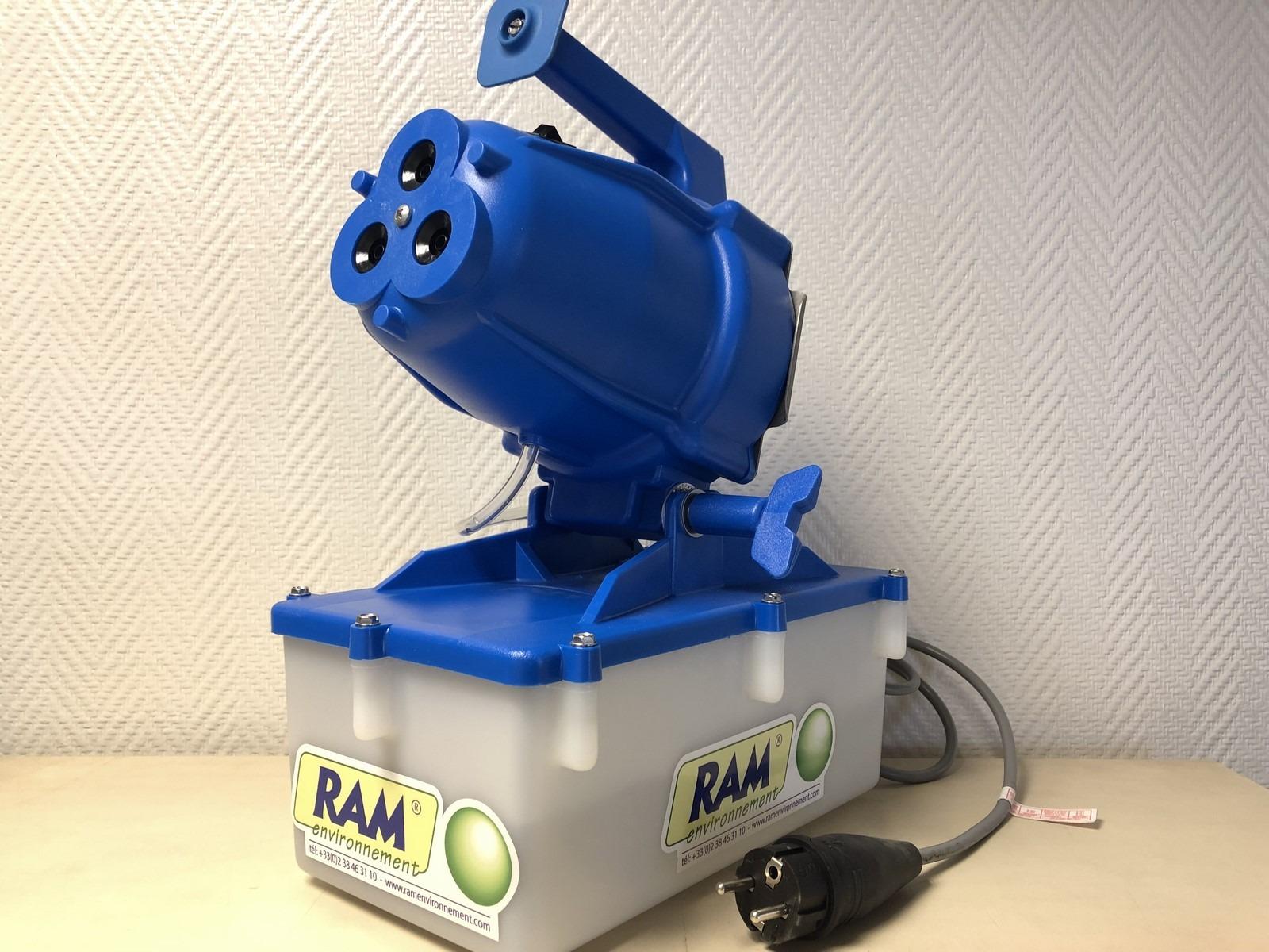 canon de brumisation portatif portable autonome turboram TRD5