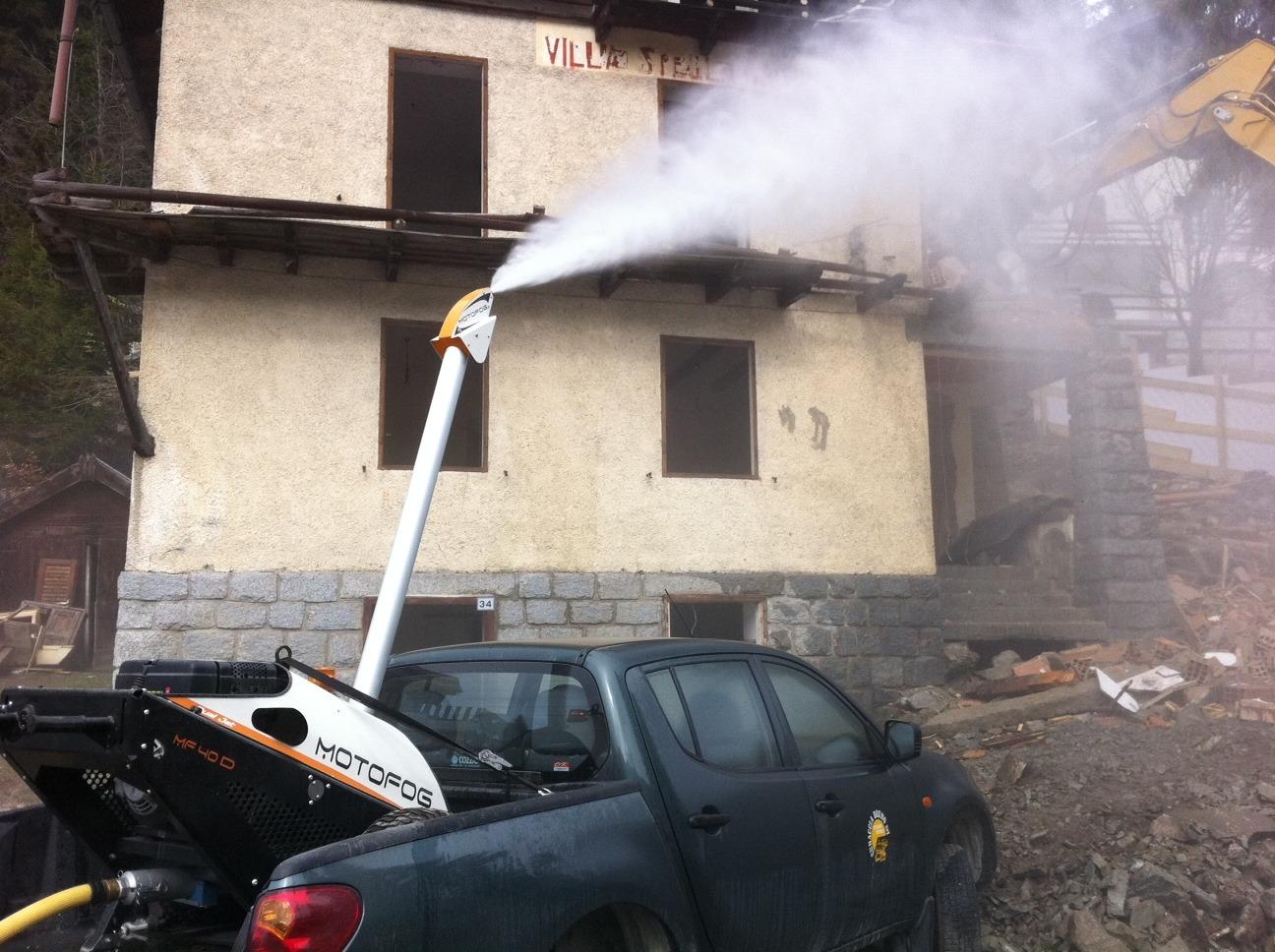Le MOTOFOG MF20 est un brumisateur pour l'abattage de poussières et odeurs
