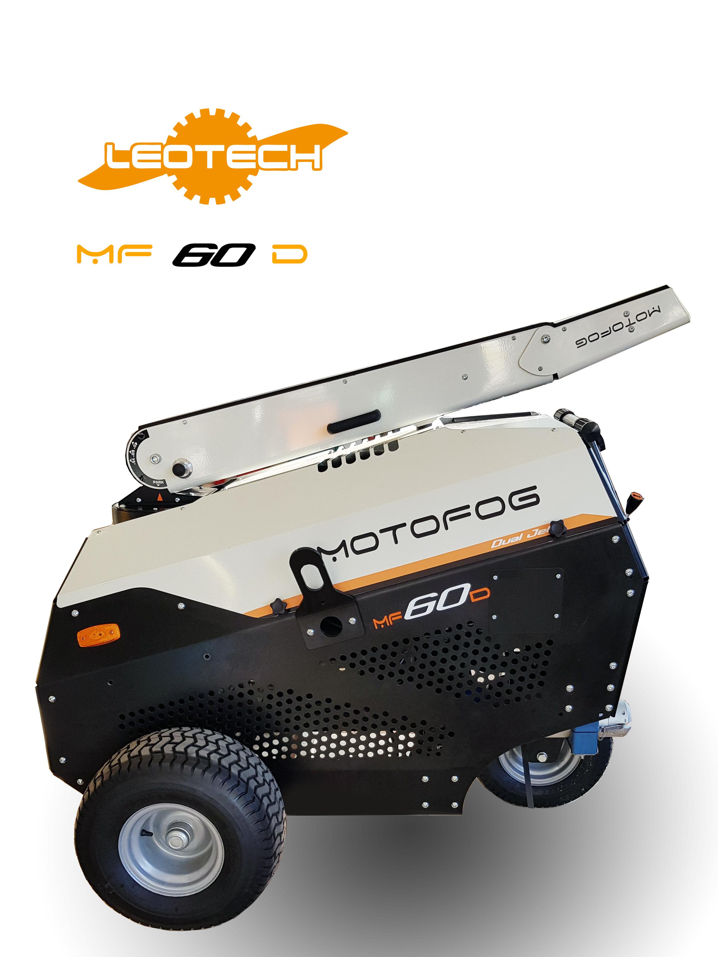 Le MOTOFOG MF60 est un brumisateur pour l'abattage de poussières