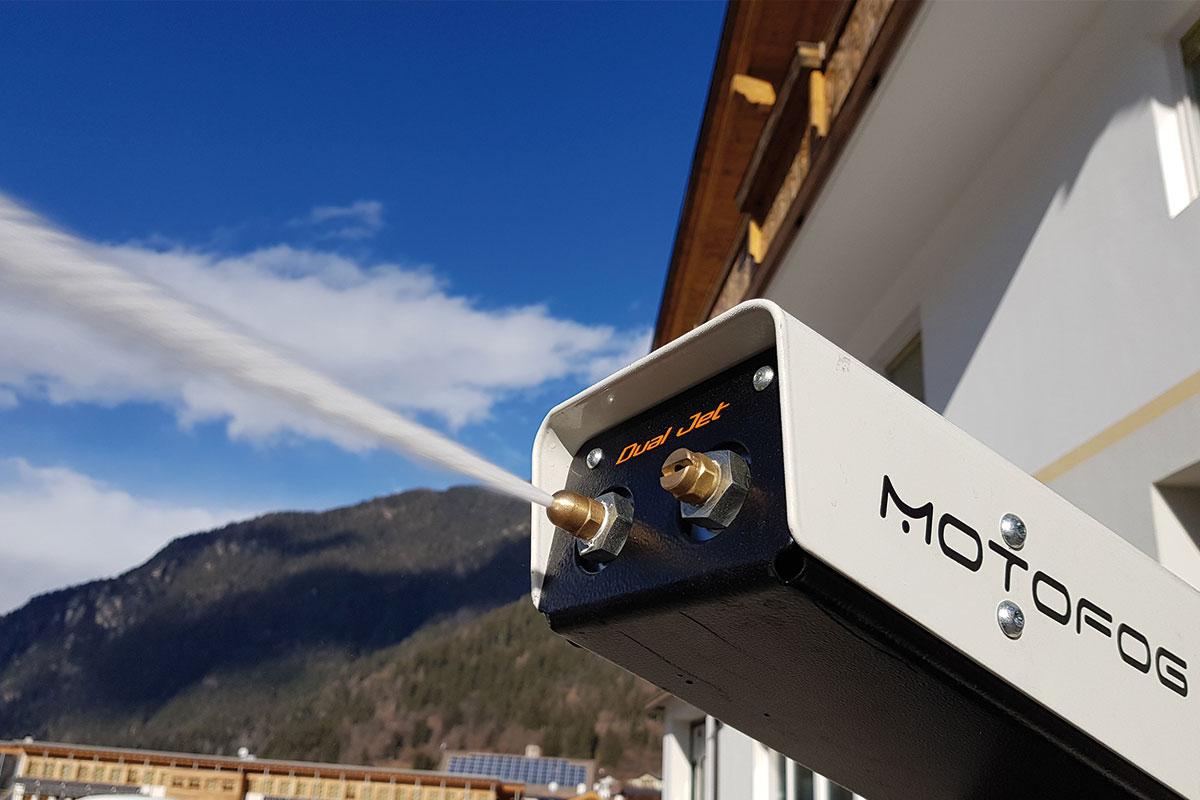 Le MOTOFOG MF60 est un brumisateur pour l'abattage de poussières par brumisation